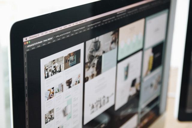 Macbook zobrazuje obrázky