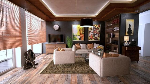 Interiér moderne zariadeného domu